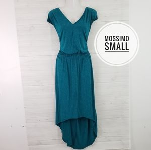 Small Mossimo Teal High Low Dress